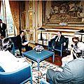A.Goze reçu par Le Président de la République Elysée 25 mai 1994