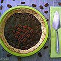Tarte au caramel et aux noix de pécan