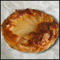 Tarte amandine poire chocolat simplissime !
