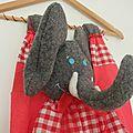 Petit éléphant, gardien du doudou et du pyjama