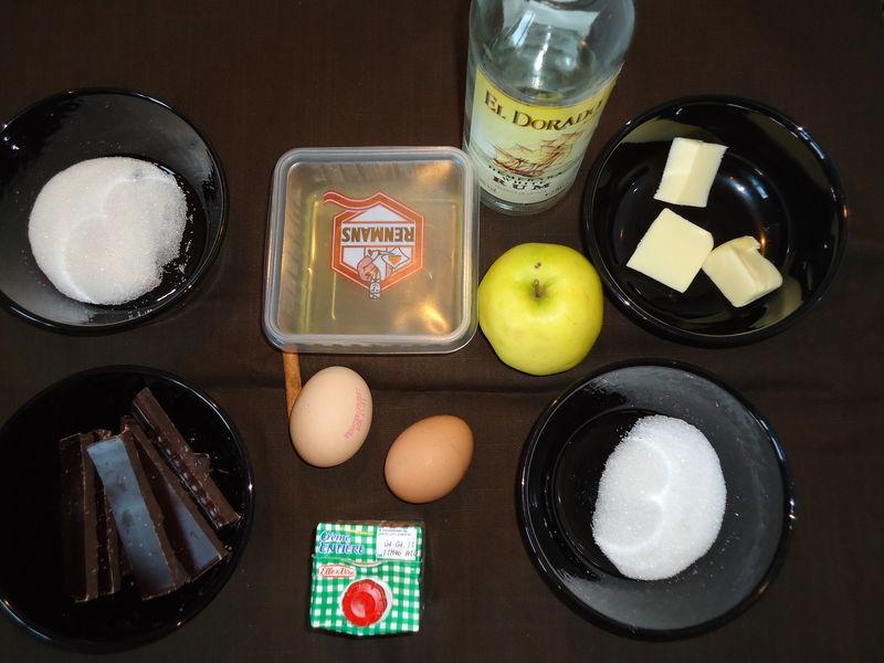 Mousse au chocolat aux pommes à la cannelle, Pierre Hermé