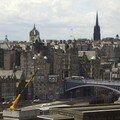 Edinburgh, Old Town vue depuis Calton Hill