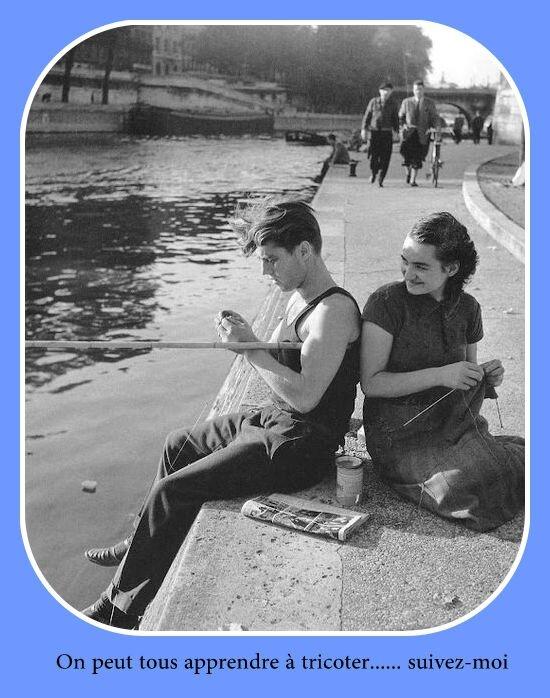 tricotons doisneau 1951