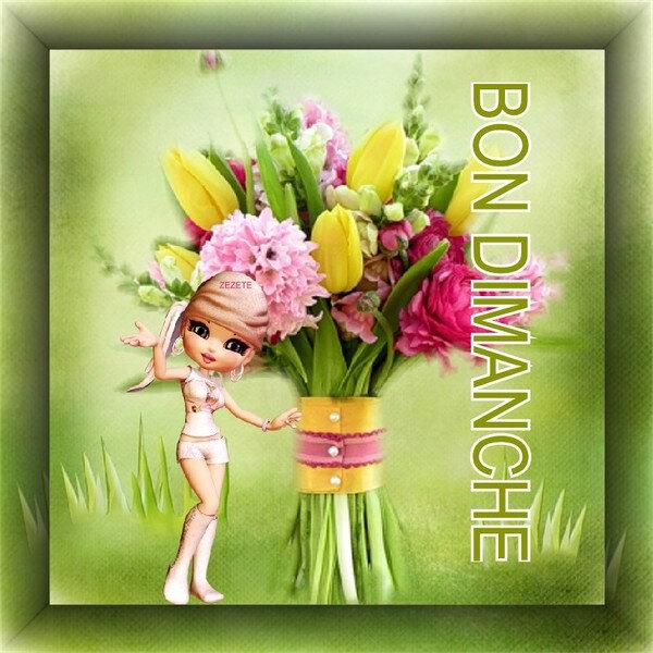 7 b d fille bouquet BPat