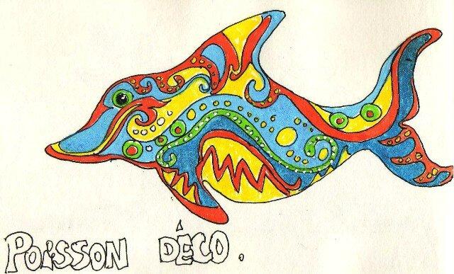 poisson déco