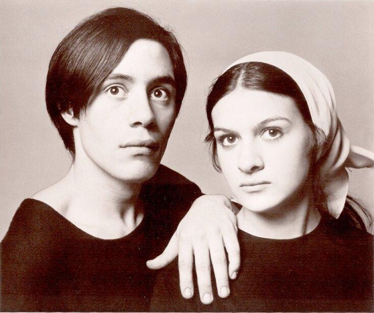 Claude et Paloma Picasso,Paris, 1966