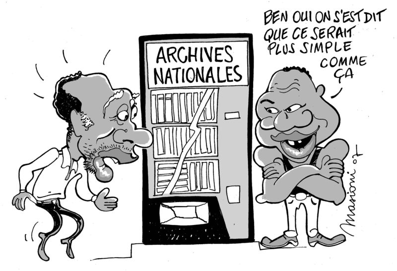 99999 Archives nationales cam bak