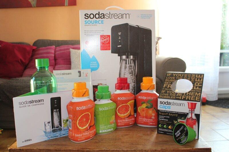 J'ai testé ... La Sodastream source