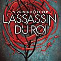 Witch hunter #2 : l'assassin du roi, de virginia boecker