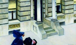 New-York-Pavements-Edward-Hopper