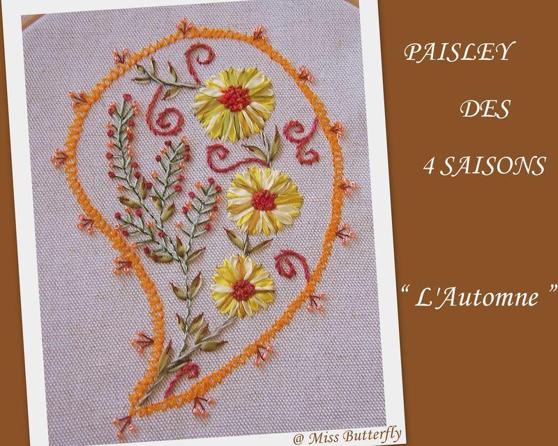 SAL PAISLEY DES 4 SAISONS ..L'AUTOMNE
