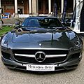 Mercedes benz sls amg 6.3 coupe 2011