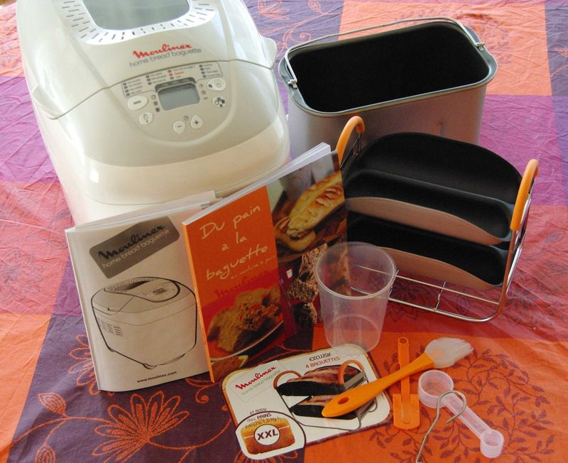 machine pain moulinex xxl les gourmandises de g raldine. Black Bedroom Furniture Sets. Home Design Ideas