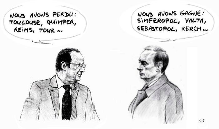 Hollande Poutine