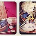 Chouette kit : une pochette pleine de jolis projets à faire soi-même