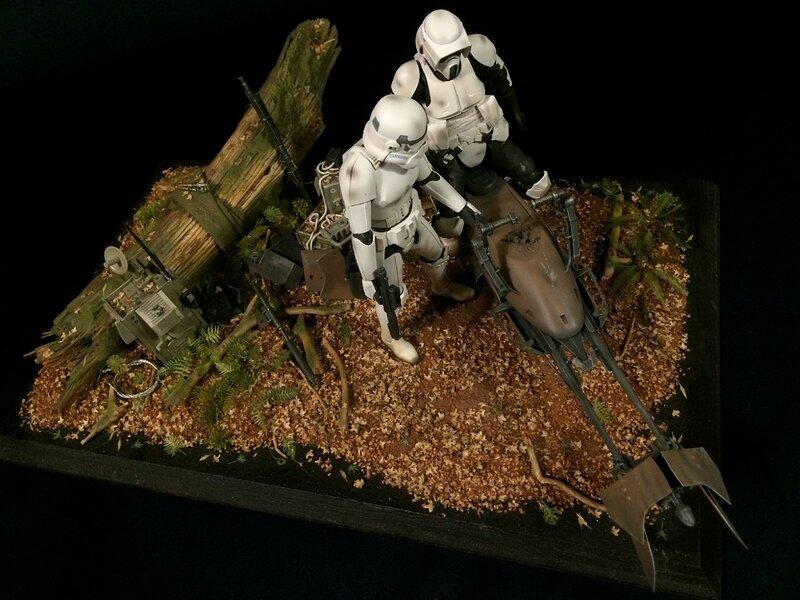 Diorama Endor 22