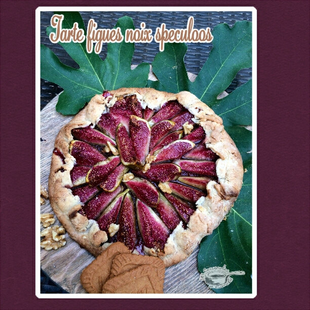 tarte figues speculoos et noix