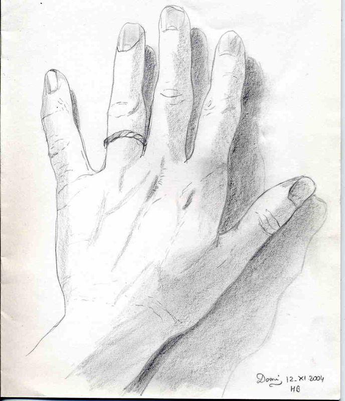 Comment dessiner les mains domi dessins et peintures - Dessin de la main ...