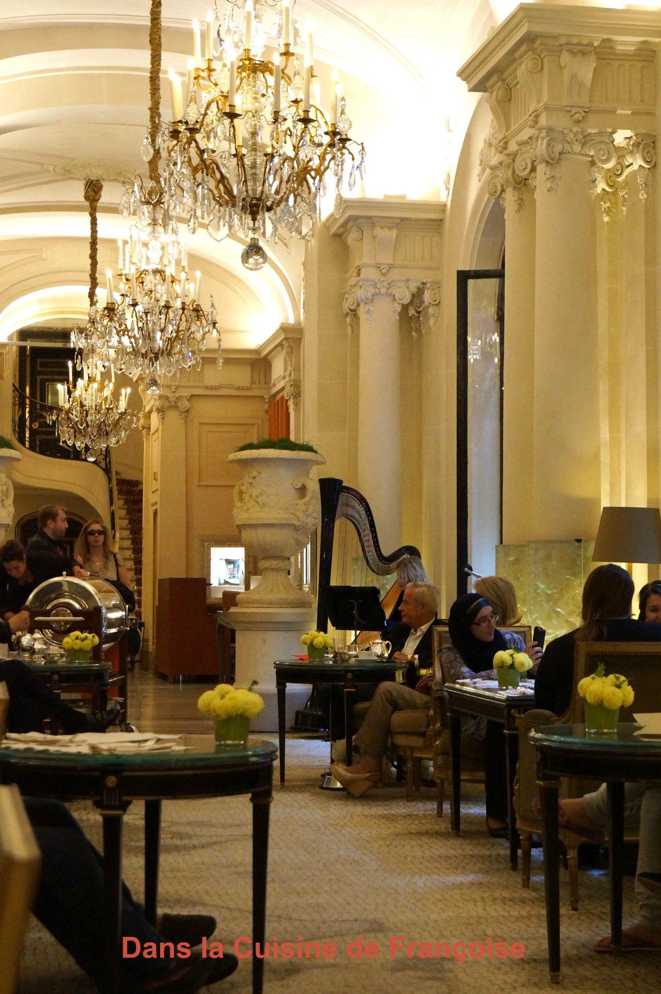Go ter au plaza ath n e palace paris 8 me dans la cuisine de fran oise - Renovation plaza athenee ...