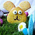 Biscuits lapins de pâques, une ferme domestiquée pour la bataillefood #22