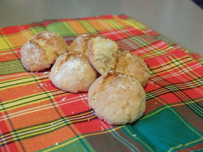amaretti noix de coco