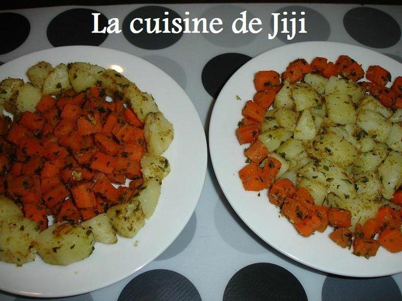 salade de carottes et pommes de terre la marocaine la cuisine de jiji. Black Bedroom Furniture Sets. Home Design Ideas