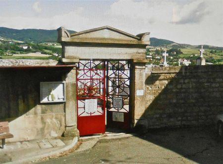 entrée cimetière St-Cham