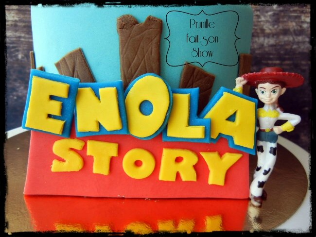 gateau toys story prunillefee 3