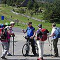 On retrouve notre camarade cycliste à la station du Mont Lozère