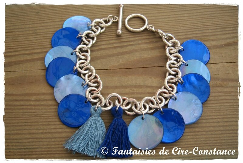 Bracelet nacres roi bleu dur-1