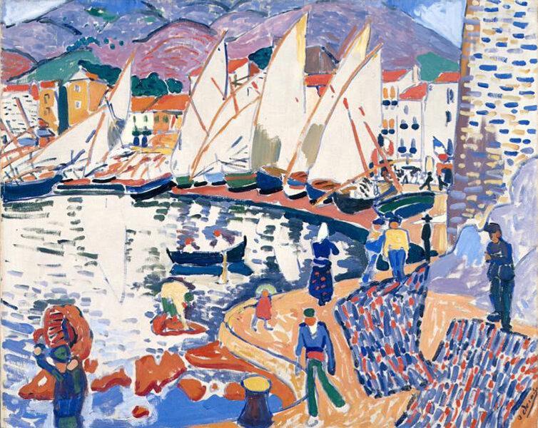 1905 - Le séchage des voiles