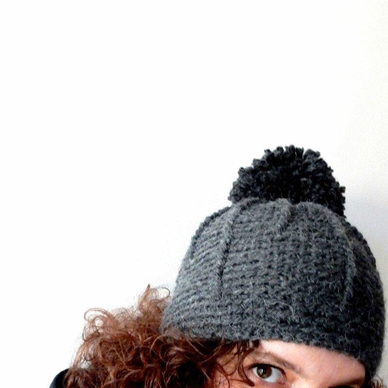 bonnet gris - Anisbee