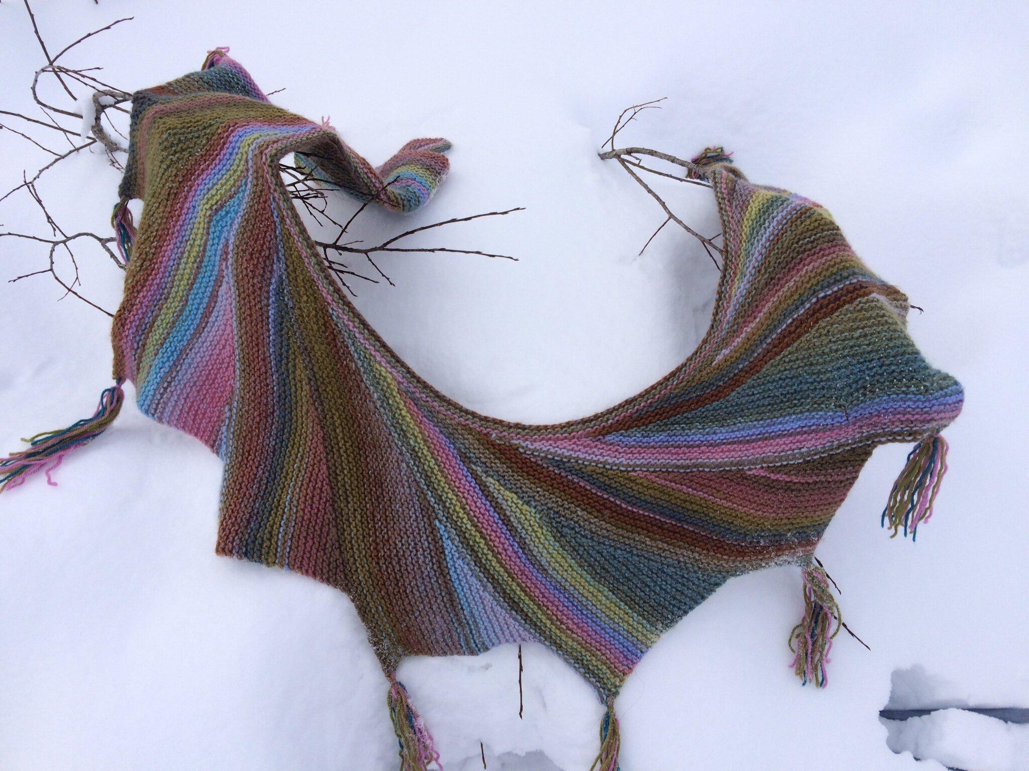 Châle Vars tricot