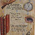 Artjournal et gribouillage #128- thème citation
