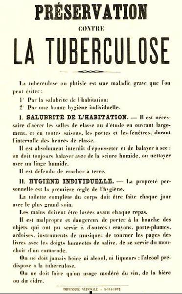 Ecole tuberculose