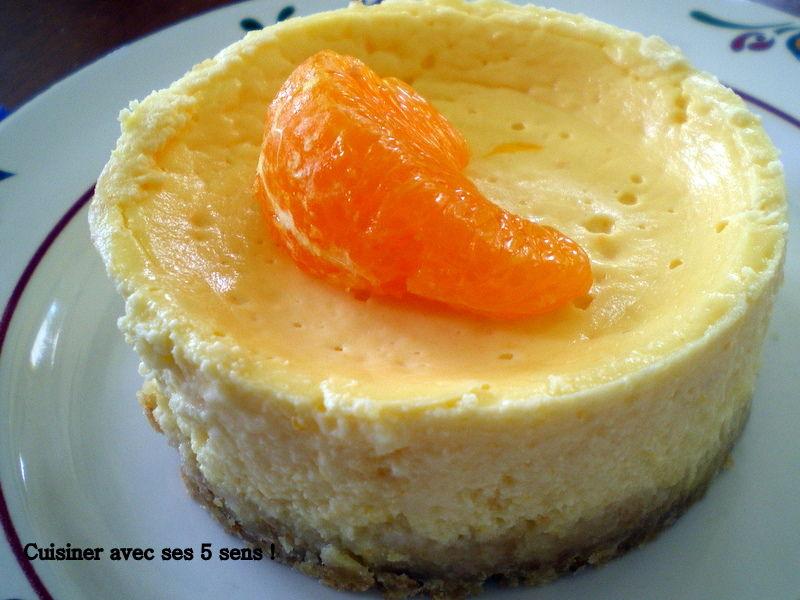 Cheesecake l 39 ortanique cuisiner avec ses 5 sens - Cuisiner avec l induction ...