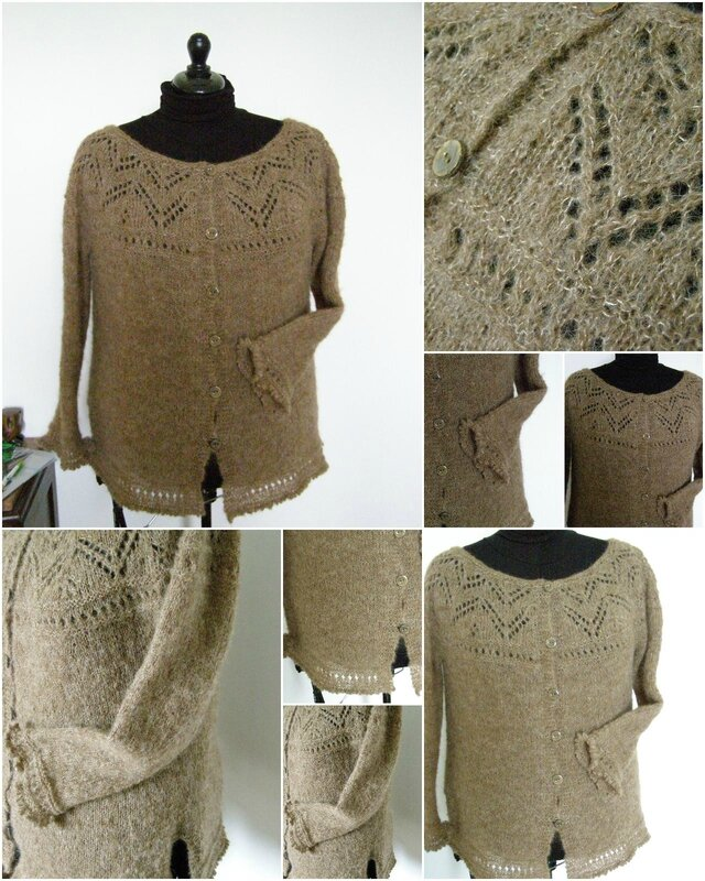 Brown Connection Cardigan