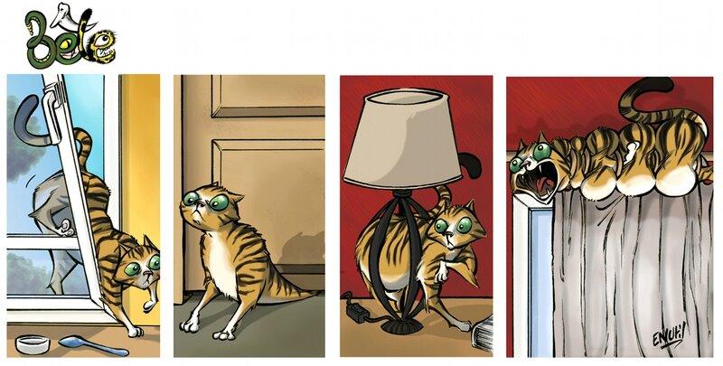 Bête - Un chat 2 - Enutil
