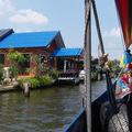 BANGKOK : les Klongs ou canaux