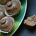 Bouchées pistache aux deux chocolats