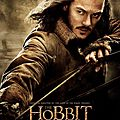 The Hobbit Desolation of Smaug Bard the Bowman poster