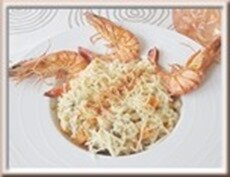 0515 - risotto légumes et crevettes
