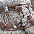 Bracelet fil m�moire