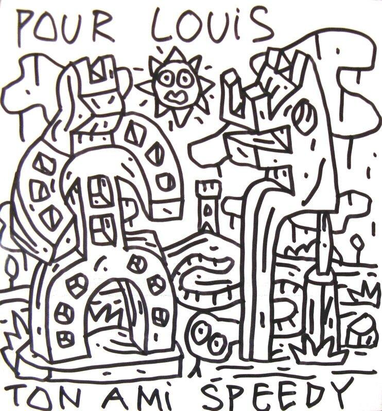 SPEEDY GRAPHITO sans titre 24 mars 2005 21,8 x 20,4