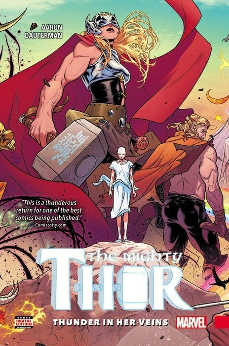 mighty thor vol 01 thunder in her veins TP