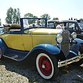 FORD Model A roadster 1931 Madine (1)