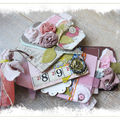 Mini printemps et un challenge antre scrap
