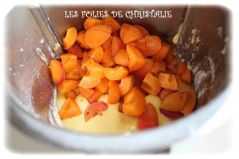 Gâteau abricots 4