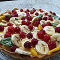 Tarte aux fruits/tarte de frutas