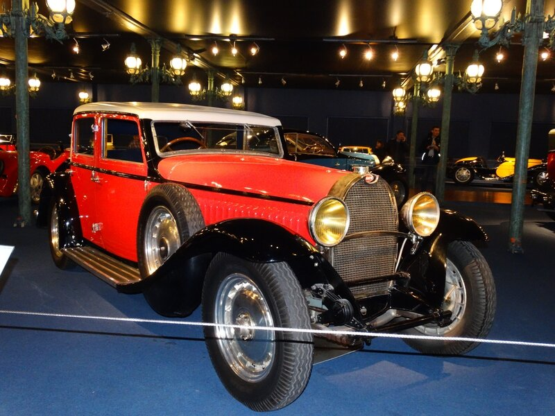 BUGATTI type 46 berline 1934 Mulhouse (1)